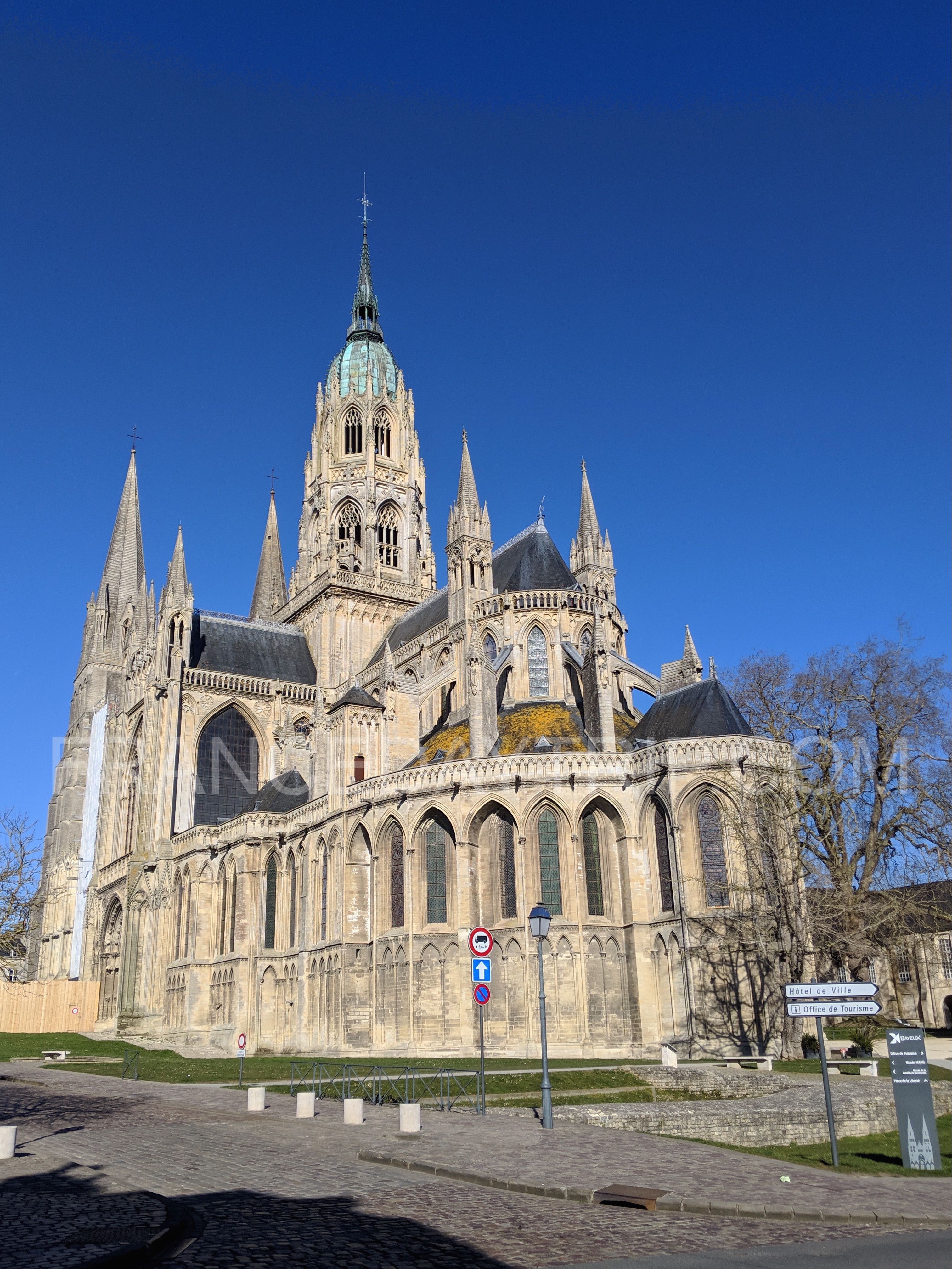 Notre-dame-Bayeux-Cathedral